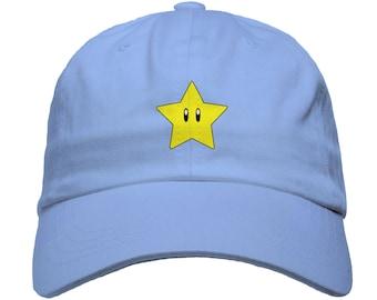 cd2ae026f46 More colours. Mario Super Star Baseball Dad Hat Strapback Humor Dat Hats ...