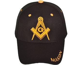 Mason Baseball Hat Masonic Cap