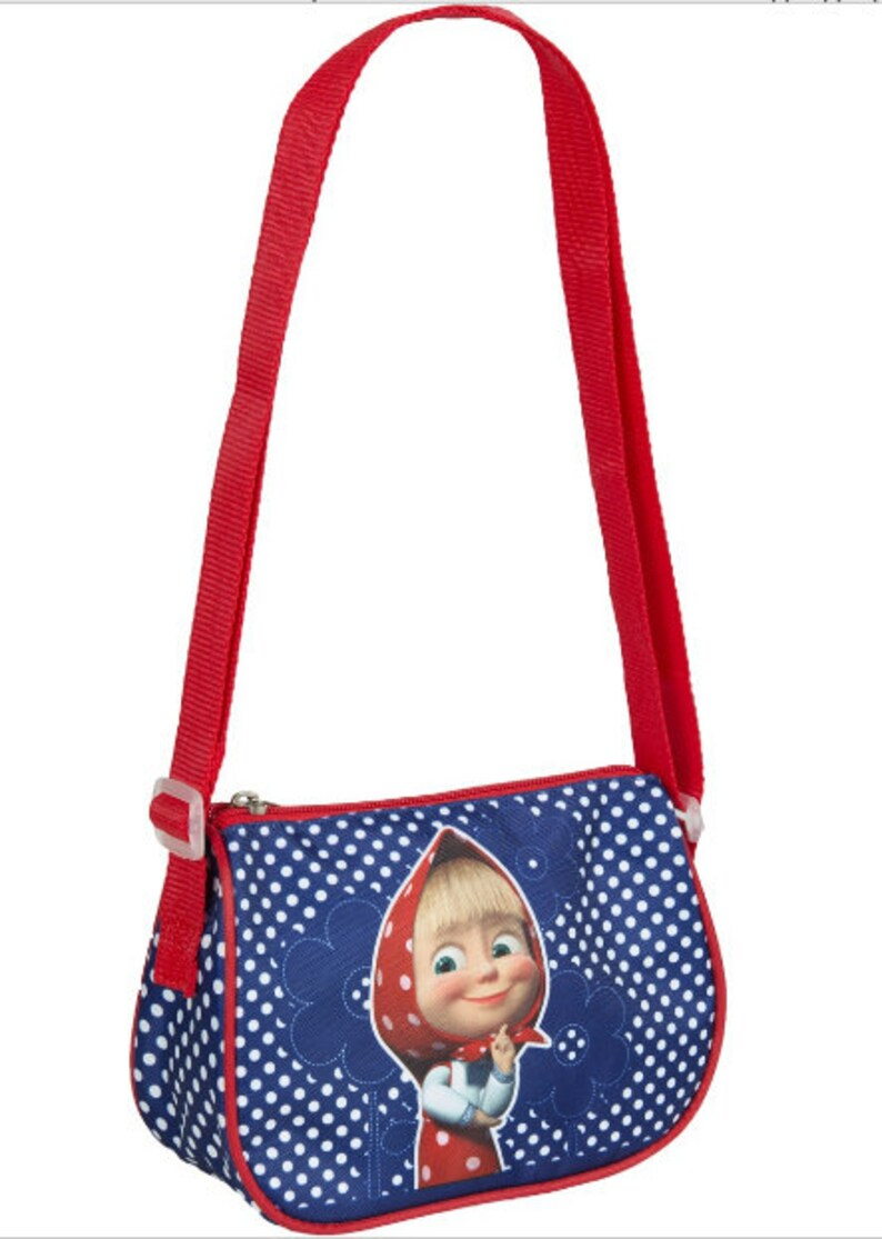 9860763db3436 Preschool Bag Masha and the Bear, Baby Bag, Small Backpack Kids, Bag Girl  Cute Backpack Kindergarten, Gray, Little Girl, Blue for Baby