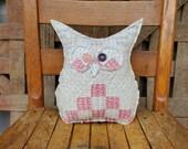 Farmhouse Vintage Quilt Owl