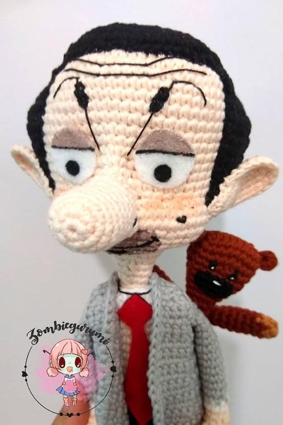 Mr Bean Teddy Bear Figure 22cm 3D Model Plush Toy Animals Stuffed ...   855x570