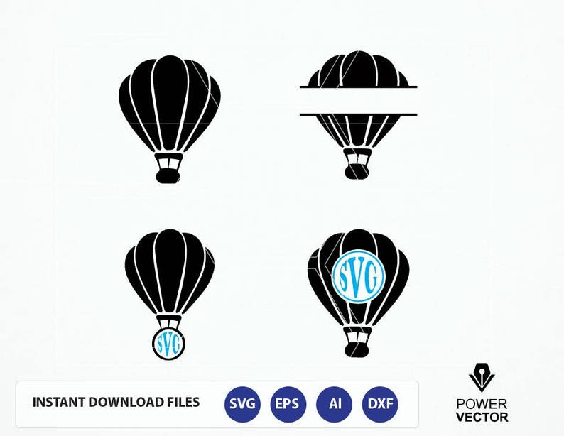 Hot air balloon SVG Aerial balloon SVG Hot air balloon  945040133