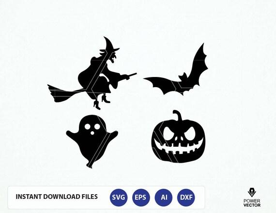 Halloween Svg Halloween Svg Dxf Png Files Halloween Svg Etsy