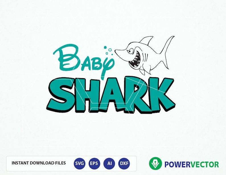 040d958537e Baby Shark SVG File. Shark Cut Files Png svg Studio3. Baby