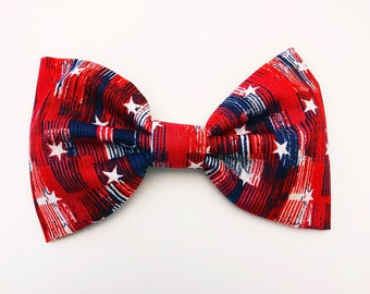 Red, White & True Bow