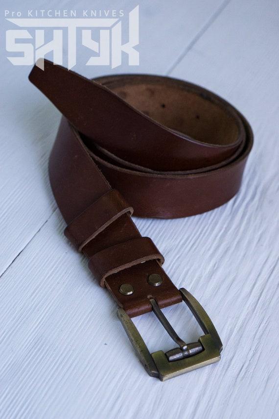 8c1f02db792e Ceinture en cuir gravé ceinture en cuir pour homme   Etsy