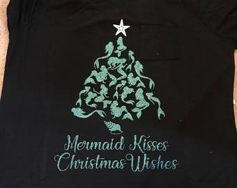 Mermaid Christmas Shirt