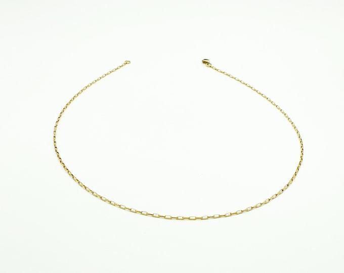 Elle Box Necklace