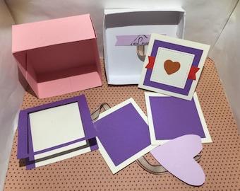 Surprise box Valentine bicolor