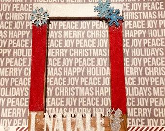 First Christmas frame