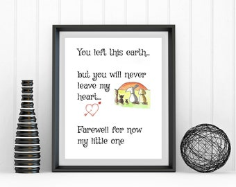 Cat Quote Print Cat Loss Poem Pet Loss Poems Cat | Etsy
