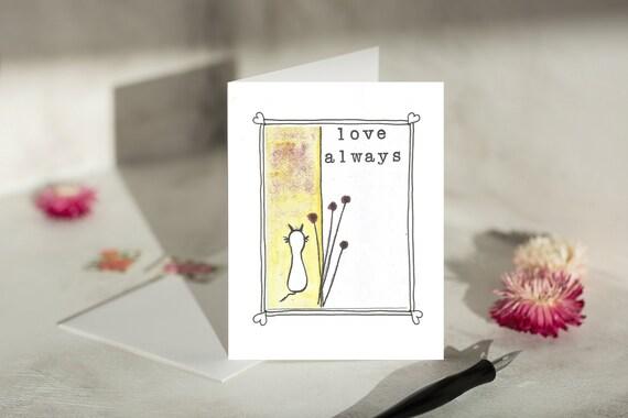 Condolence Card Homemade Cards Cat Memorial Cat Card