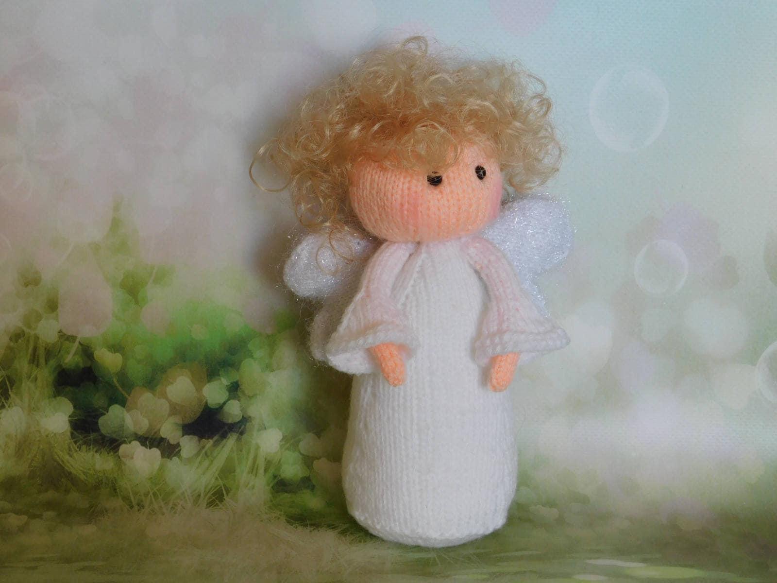 Engel Puppe Engel stricken Amigurumi Spielzeug gefüllte Engel
