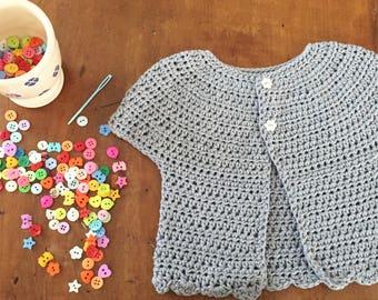 Cotton sleeveless sweater