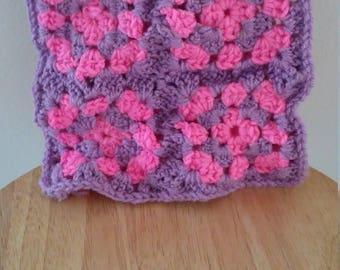 Pink and purple bag