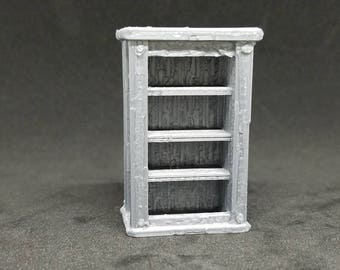 Bookcase - 3D Printed 28mm Scale