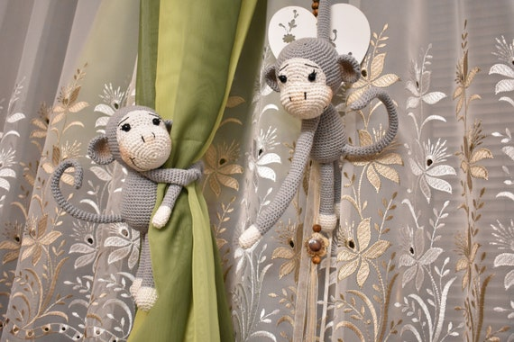 The 25 Prettiest Little Monkey Crochet Patterns - Derpy Monster | 380x570