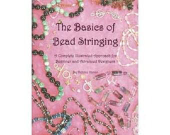 Book:  Basics of Bead Stringing, Debbie Kanan, How-To Make Jewelry Beginner and Advanced Bead Art Jewelry Designers, Jewelry Making Supplies