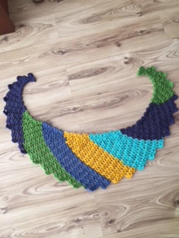 Sweetest Wave Shawl Baktus Shawl Pattern Crochet Shell Etsy