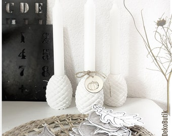 Candle holder •Cones• made of Raysin