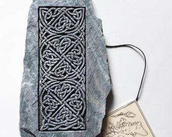 Celtic Knotwork Wall Art, Handmade Scottish Gift, Celtic Home Decor, Celtic Wall Plaque, Scottish Gift, Pictish, Celtic Art, Andrew McGavin
