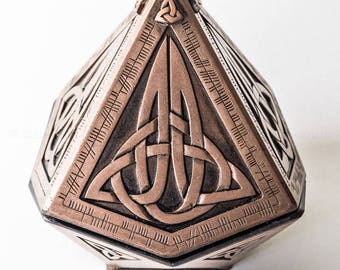 Copper Pyramid Treasure Box