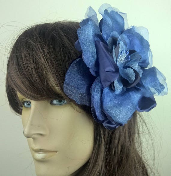 New Black Satin Rosette Headband Hair Fascinator Bridesmaids Weddings Hen Partys