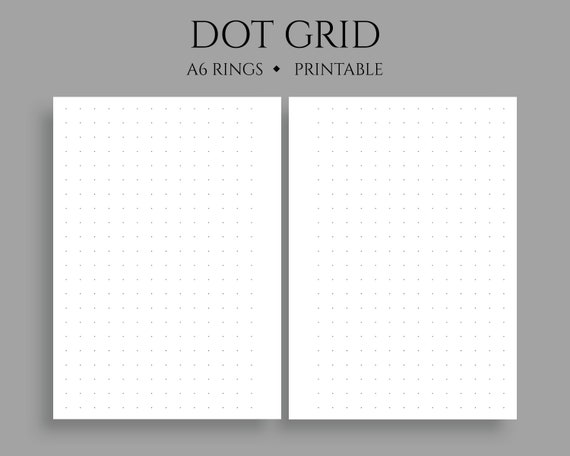 It's just a photo of Bullet Journal Dot Grid Printable regarding seamless