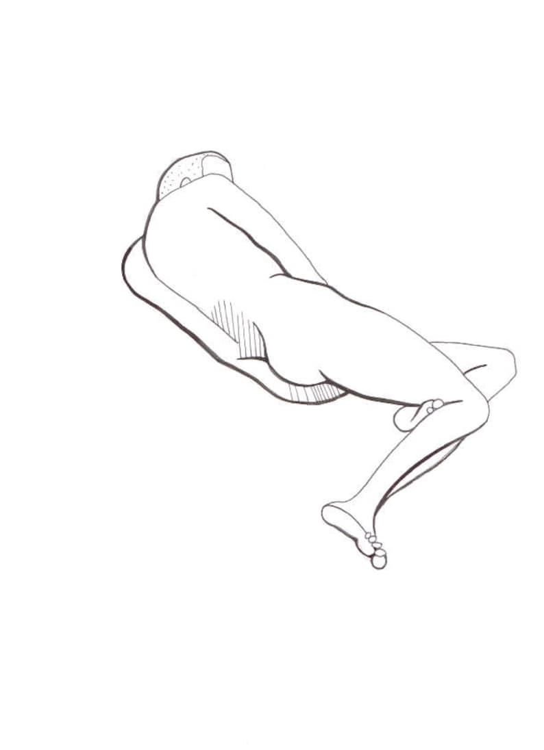 Nude male sketch Nude Photos 20