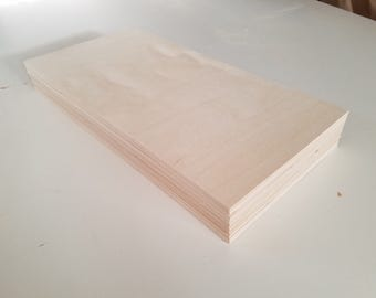 "1/8"" Birch 12x24 (24 Sheets) Baltic Birch Plywood 3mm"