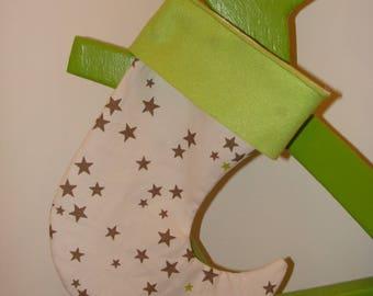 the Green Santa sock star