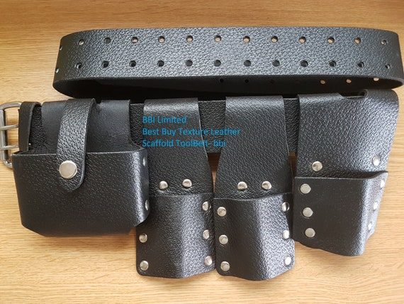 Scaffold Leather Tool Belt 5 IN1 BBI Top Quality UK Sale