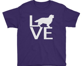 LOVE Dog Youth Short Sleeve T-Shirt