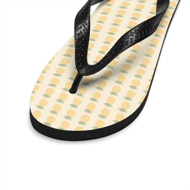 Pineapple Unisex Flip Flops