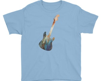 Guitar Youth Short Sleeve T-Shirt