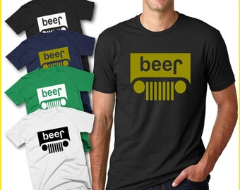 58cbcd2f9 Wild Bobby Beer Jeep Logo Parody Drinking Humor Mens Graphic T-Shirt Funny  Logo Parody Tee