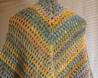Crochet V Mesh Shawl