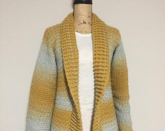 Crochet Sundown Cardigan Pattern