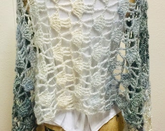 Dewdrop Meadows Prayer Shawl