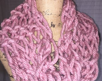 Strawberry Arm Knit Crowl Scarf