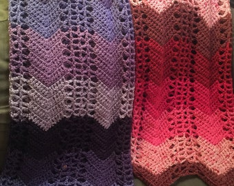 "Custom Crochet Blanket 41"" x 59"""