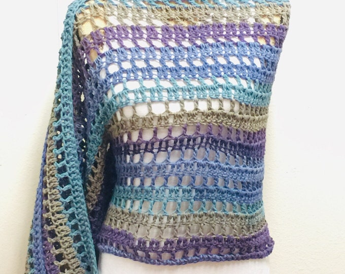 Featured listing image: Meadow Walk Prayer Shawl