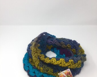 Perfect Stormy Blossom Infinity Scarf
