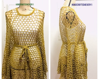 Gold Dust Poncho