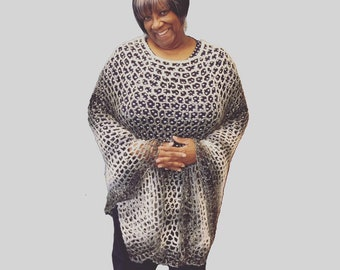 Momisickle Mesh Poncho