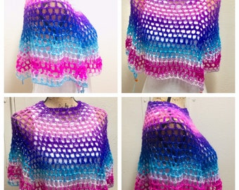 Memisicle Poncho Pattern