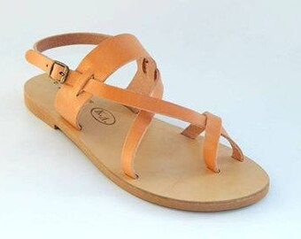 Greek Handmade Genuine Leather Sandals