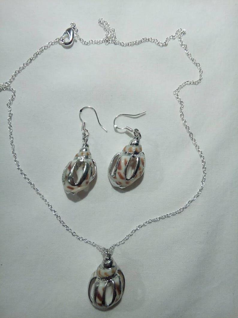 Natur Sea Shell Jewelry Set
