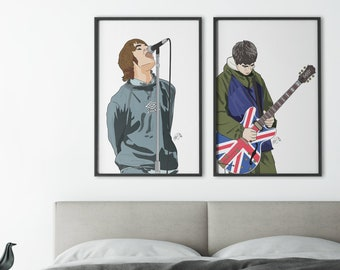 Oasis Flag Banner NEW Liam Noel Gallagher Morning Glory Wonderwall Fabric Poster