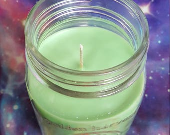 Absinthe Soy Wax Candle - Spellbound - Vegan Candle, Gift For Him, Goth Candle